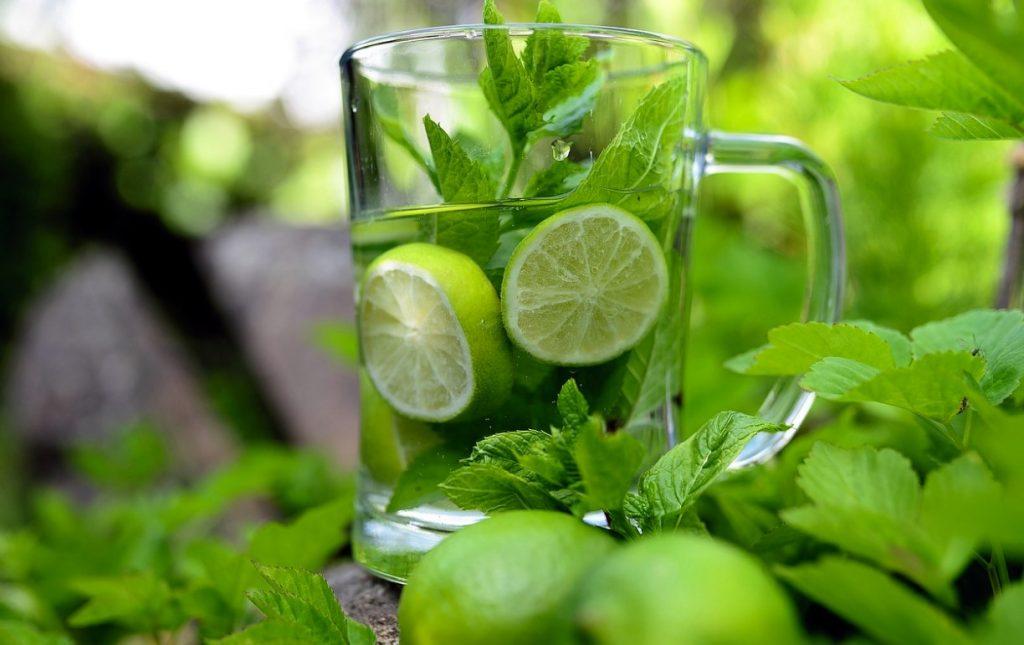 pepperming lemon juice
